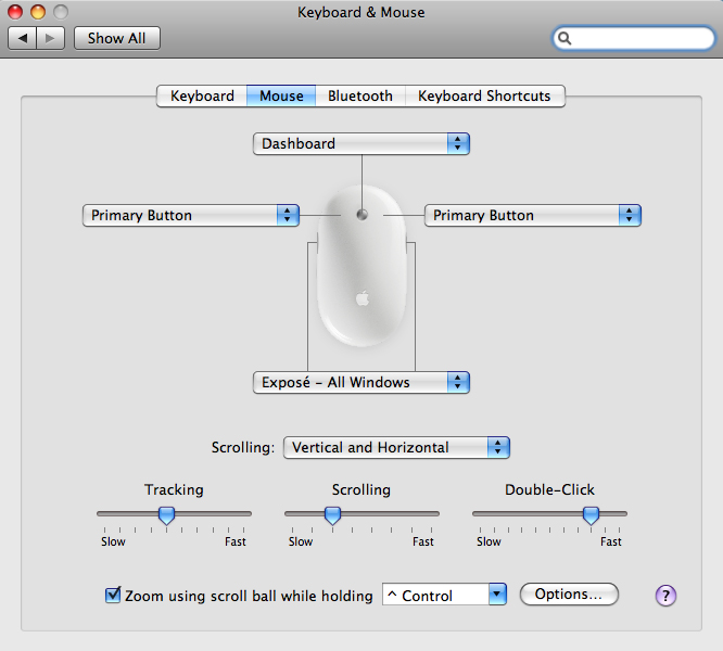 Apple OS X - Slowing down your mouse's double click speed