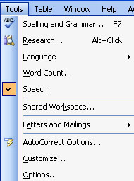 Speech Recognition in Office XP | My Computer My Way
